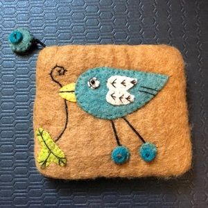 Handbags - Wool coin purse